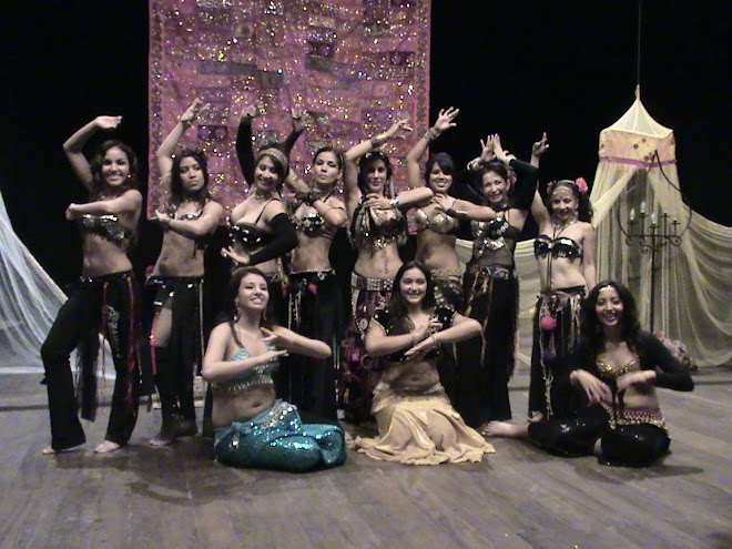 INTEGRANTES DE ZAMIRA'S BELLY DANCERS TRIBAL FUSION