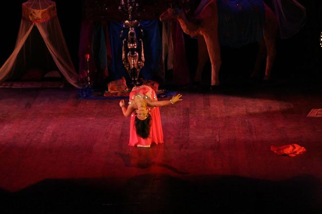 Danza arabe libanesa