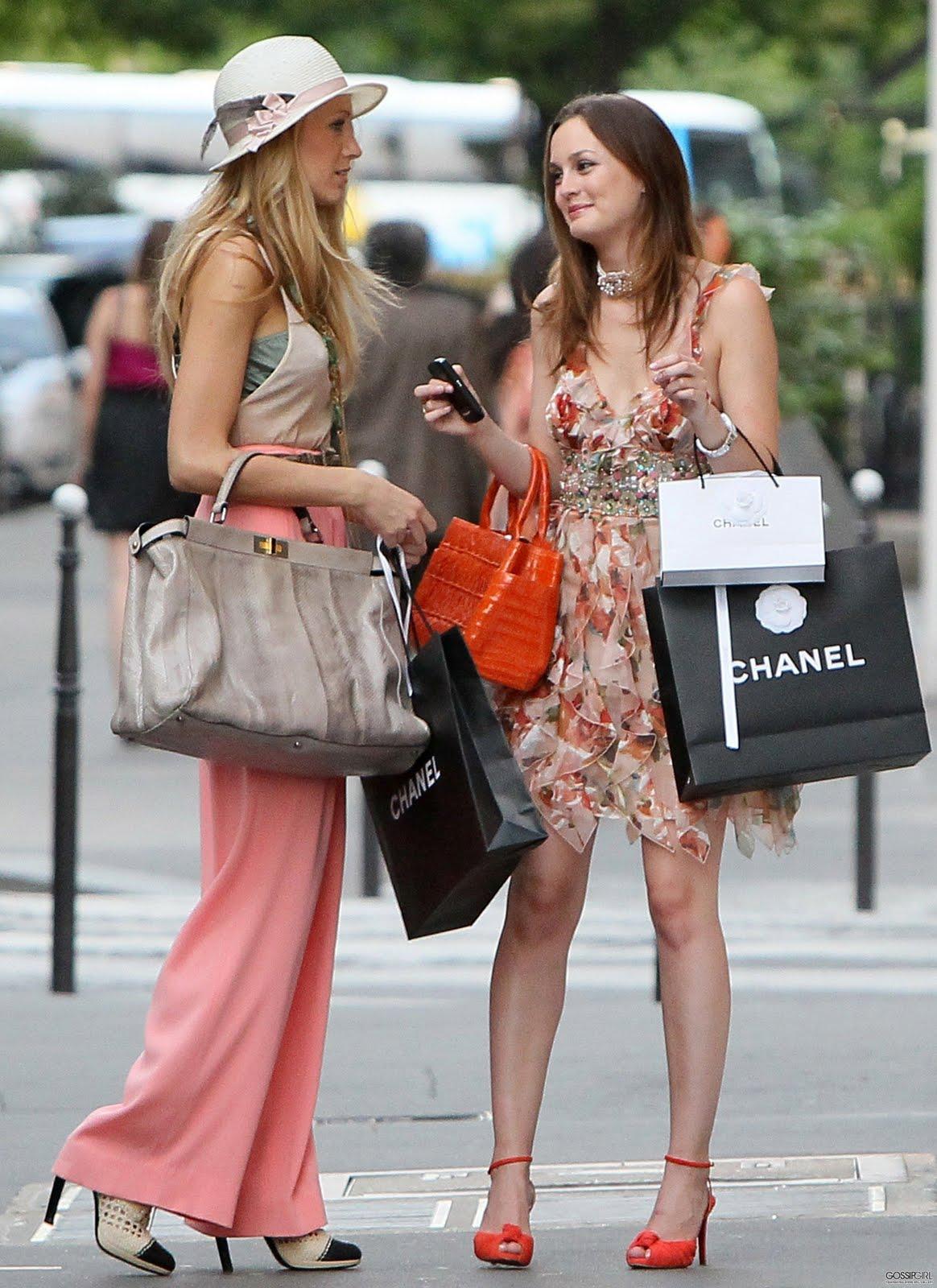Poise Vogue Gossip Girl In Paris Part Iv
