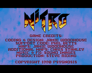 Nitro on the Commodore Amiga