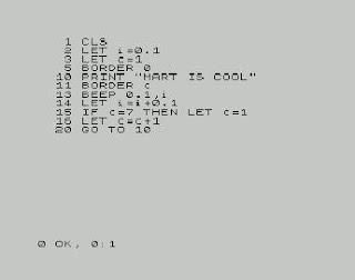 ZX Spectrum BASIC