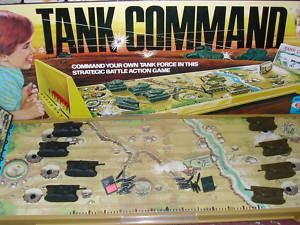 Tank Command In Its Box