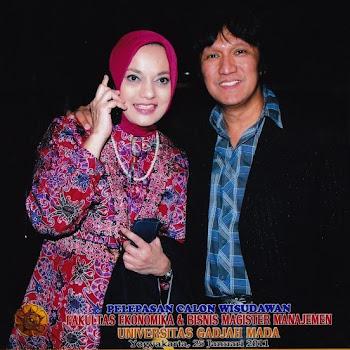 Marissa Haque & Ikang Fawzi: Kenangan Sehari Sebelum Wisuda MBA dari UGM, Yogyakarta