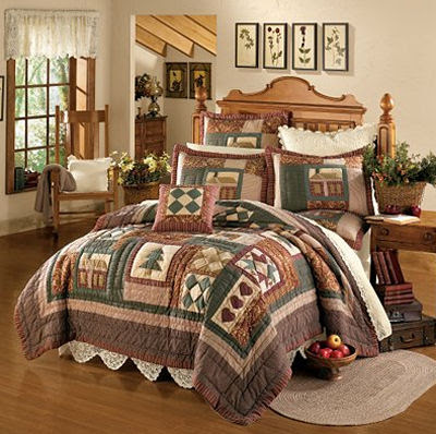 Wake up in a bed like this one on Christmas morning and there is no