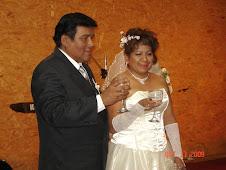 Matrimonio de César Rivera é Isabel Saldarriaga