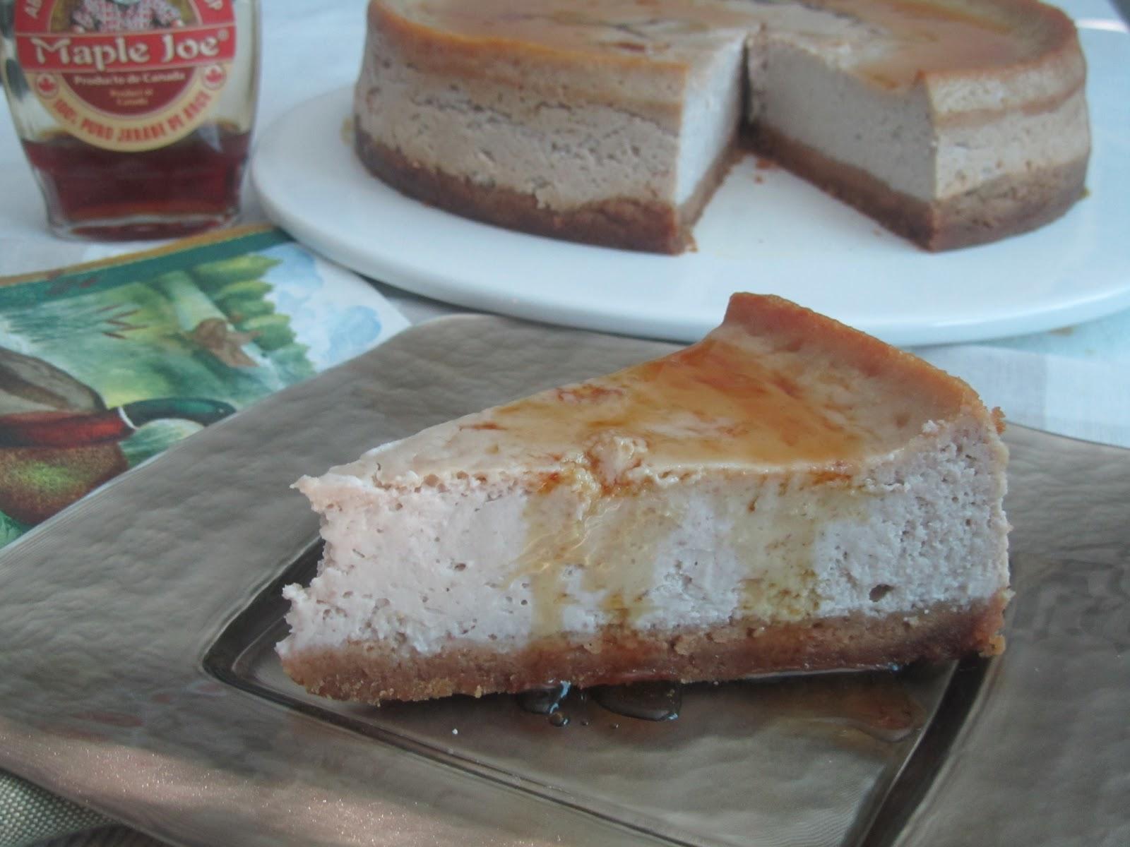 ... las mias: Tarta de Queso y Castañas (Chestnut Cheesecake