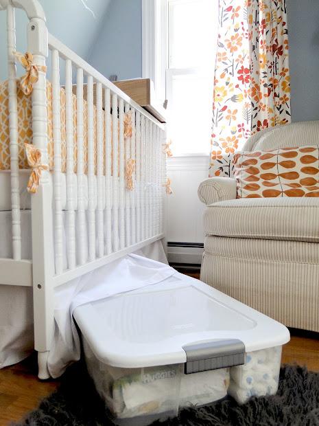 Baby Nursery Storage Ideas