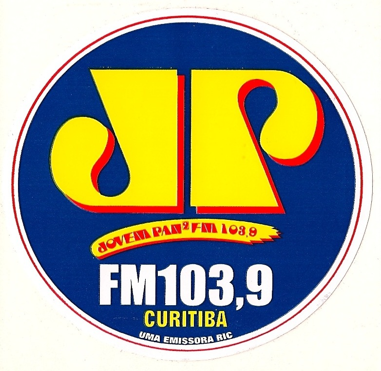 radio sticker of the day jovem pan