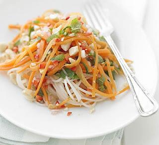 Receta Ensalada de Zanahoria Thai Thai+Carrot+Salad