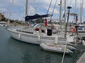 Fidji dans la marina du Marin! Martinique!