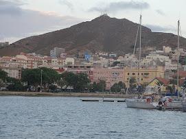 Mindelo, 45000 habitants sur Sao Vicente, Cap Vert.