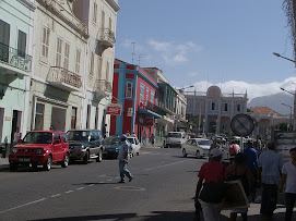 Balade en Centre ville de Mindelo