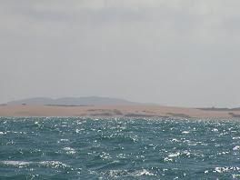 En approche du desert de Guajira...