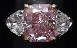 Maravilhoso diamante rosa raríssimo foi encontrado na África do Sul