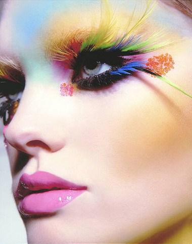 Maquiagem para o carnaval 2010