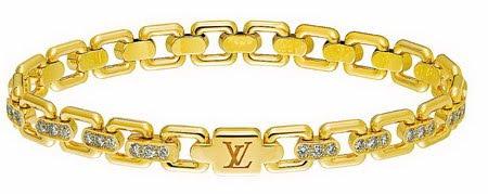 Pulseira Louis Vuitton,sofisticada e cobiçada