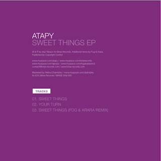 clubmusicsource.com Atapy   Sweet Things EP