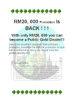 RM 20,000 Promotion