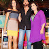 Hrithik Roshan and Kangna with Farah Khan on the sets of 'Tere Mere Beach Mein'