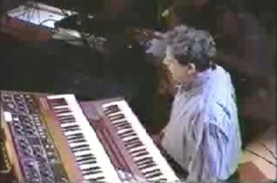 Screenshot: Philip Glass on SNL
