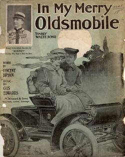 In My Merry Oldsmobile sheet music cover