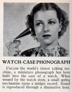 Watch-Case Phonograph photo