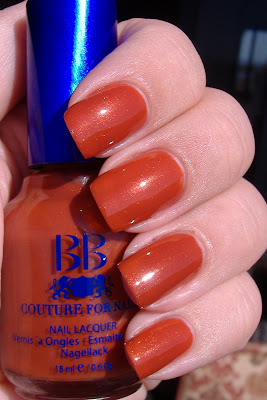 bb couture for nails la bamba nail polish
