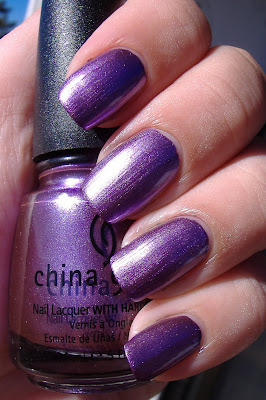china glaze harmony nail polish
