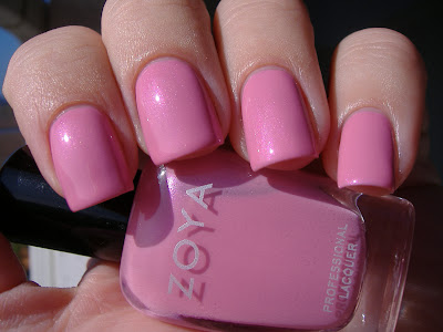zoya barbie swatch