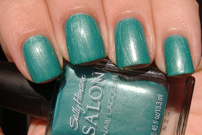 sally hansen honeydew nail polish