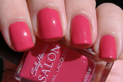 sally hansen azalea salon nail polish