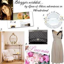 Lanalou blogger wishlist