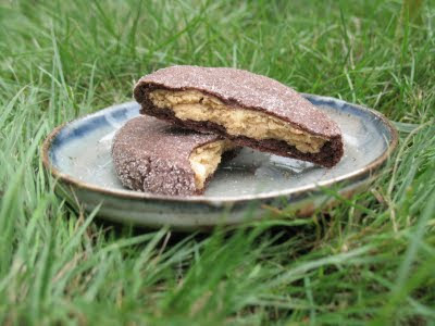Magic in the Middles (Peanut Butter Filled Chocolate Cookies) Recipe ...