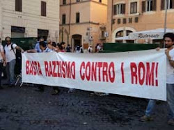 BASTA RAZZISMO CONTRO I ROM