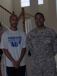 Matt with Recruiter SSgt Berry
