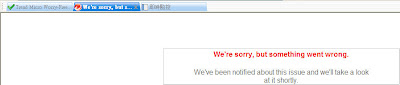 ERS網頁錯誤訊息