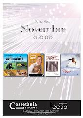 Novetats previstes pel mes de novembre