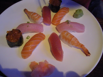 Yu-Mi Sushi Bar and Grill dish Sashimi plate