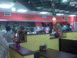 Interior Machismo Burrito Bar, Norfolk Restaurant