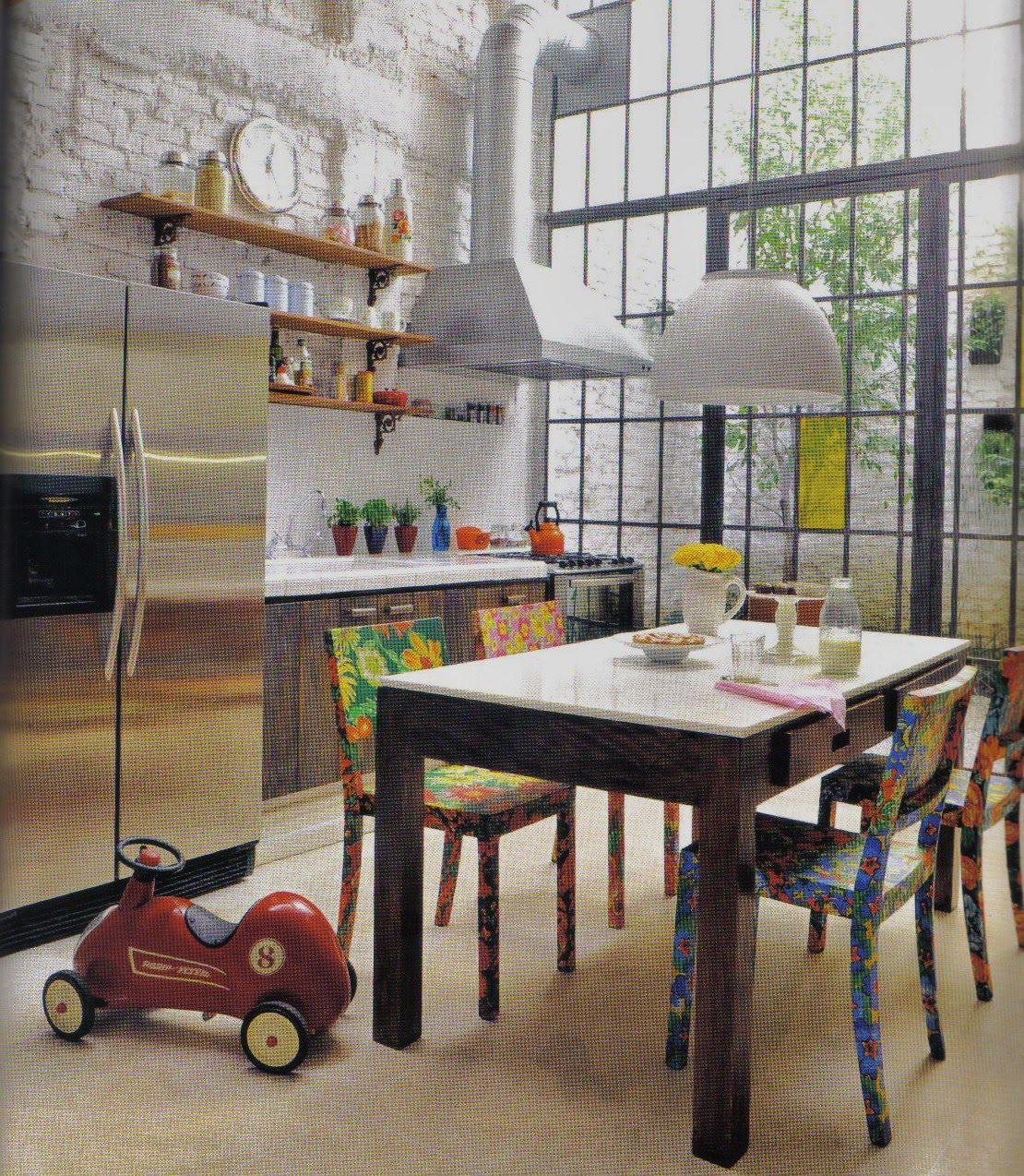 Coisas de Josiane: A simplicidade e o luxo de uma cozinha. #684436 1110x1274
