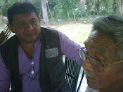 REUNION CON EL  CACIQUE GUAHIBO