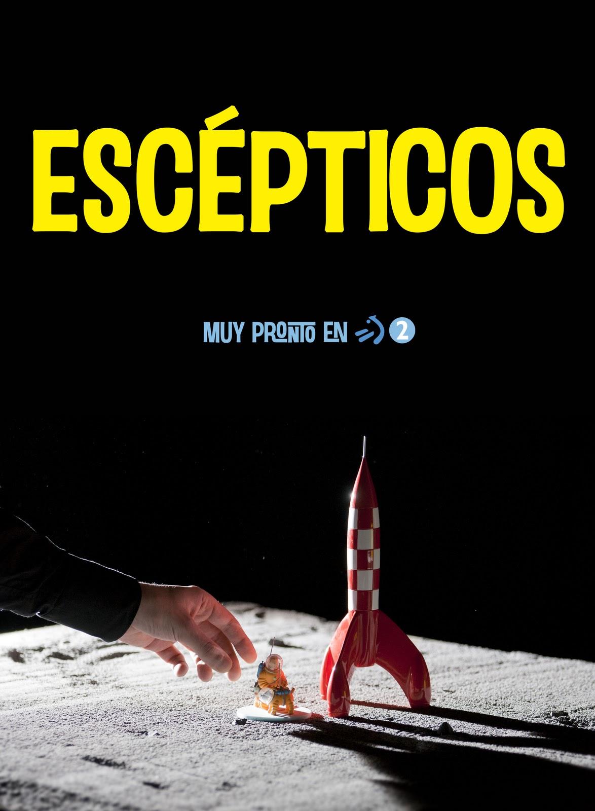 Imagen promocional de Escépticos