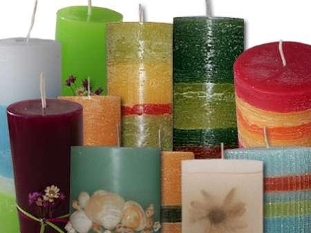 Artesan as y manualidades como hacer velas - Como fabricar velas ...