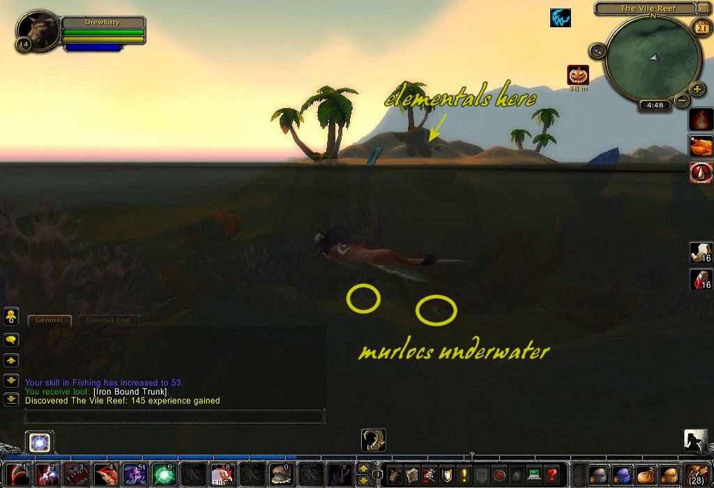 how to get to wetlands horde
