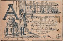 Først kommer A så B så kommer hele alfabetet  og så kan du lese all verdens fantastiske bøker