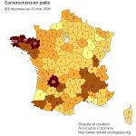 Les maisons en paille en France: enquête 2010