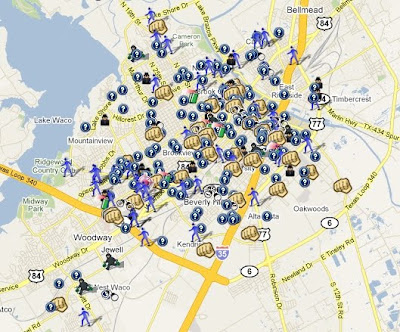SpotCrime is Mapping Crimes Waco Texas SpotCrime The Publics