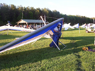 New U2 Hang Glider
