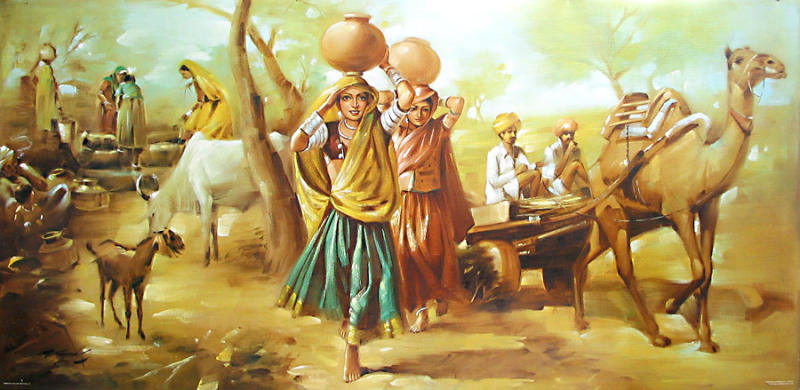 Indian Classic Art Paintings