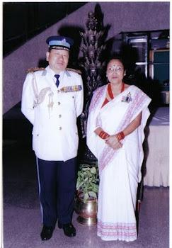 Dr. Thapa and Ms. Thapa